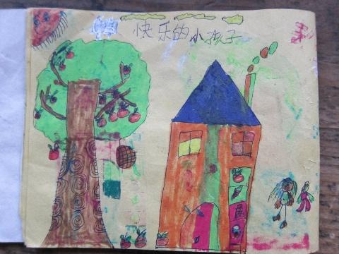 独小二年级画画比赛图片